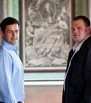 Roman Horvath & Heinz Frischengruber (Domäne Wachau)