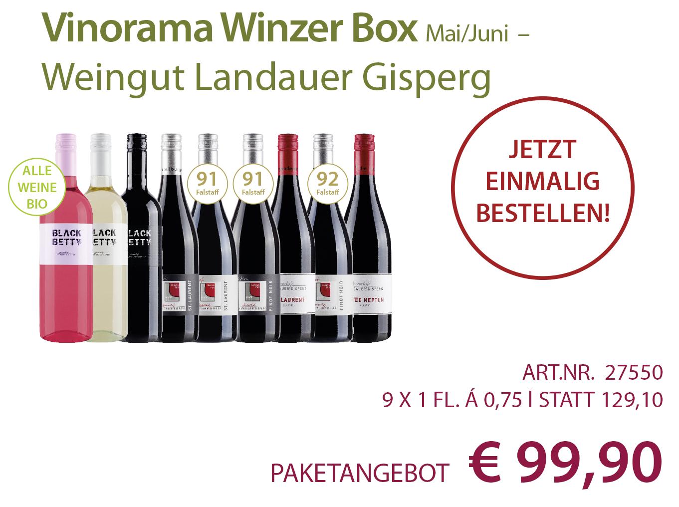 Vinorama Winzer Box Paket