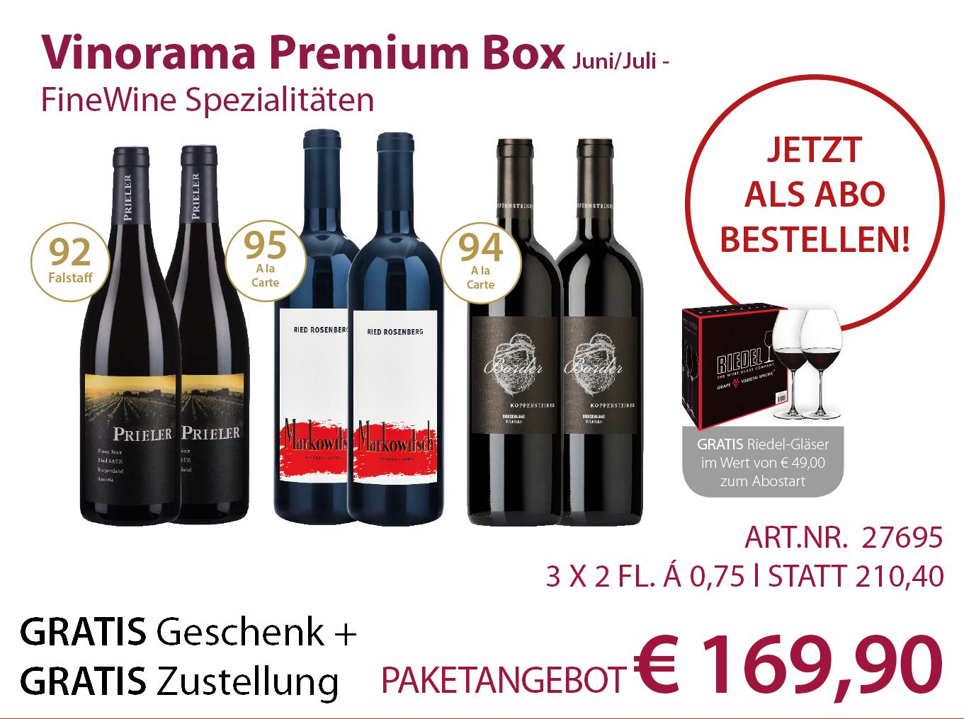 Vinorama Premium Box Abo