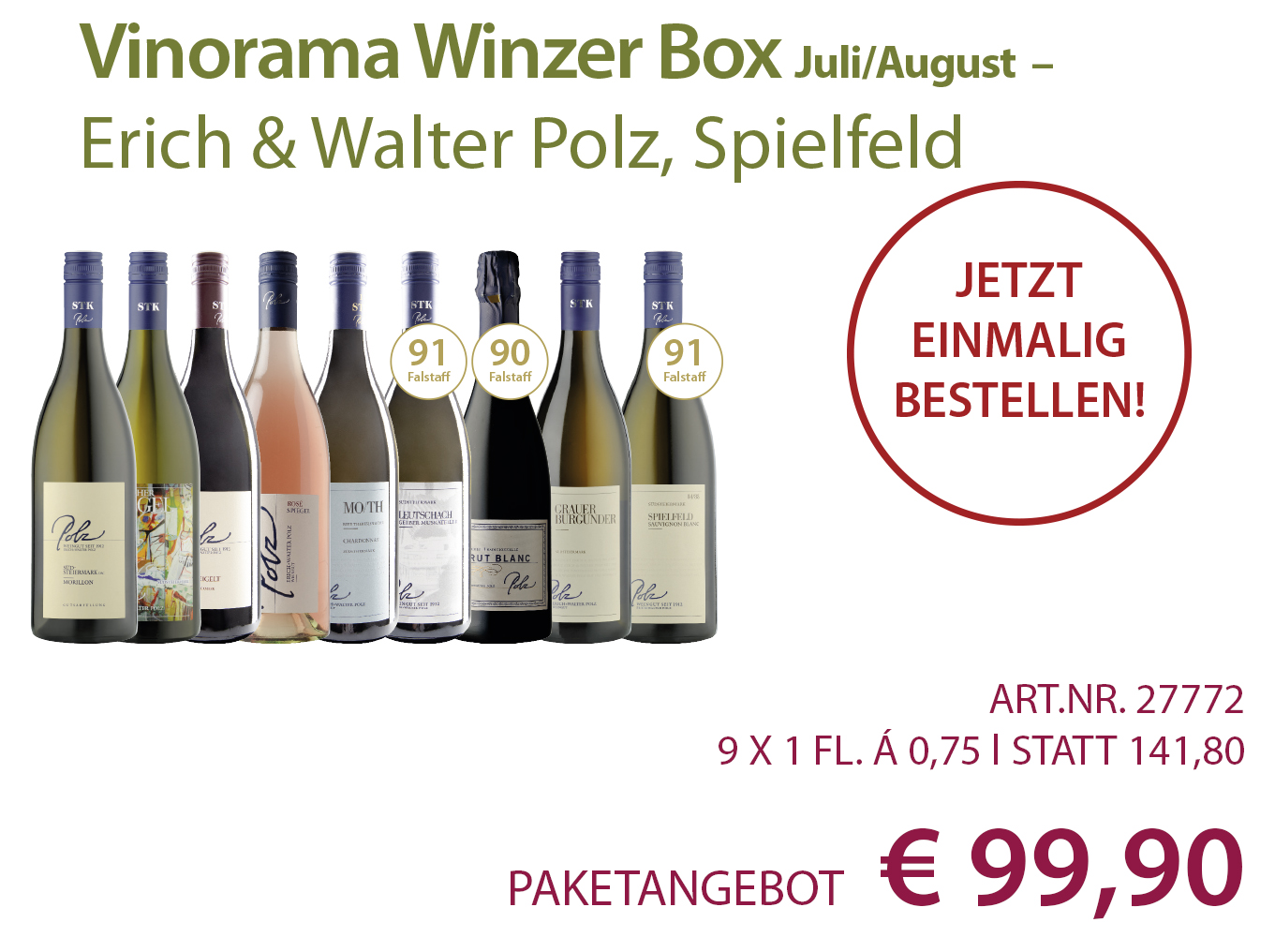 Vinorama Winzer Box Paket