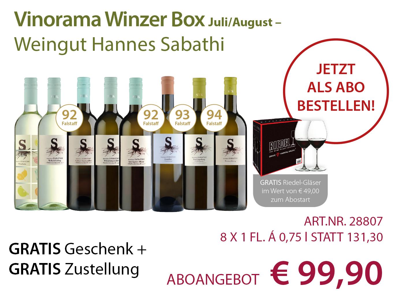 Vinorama Winzer Box Abo