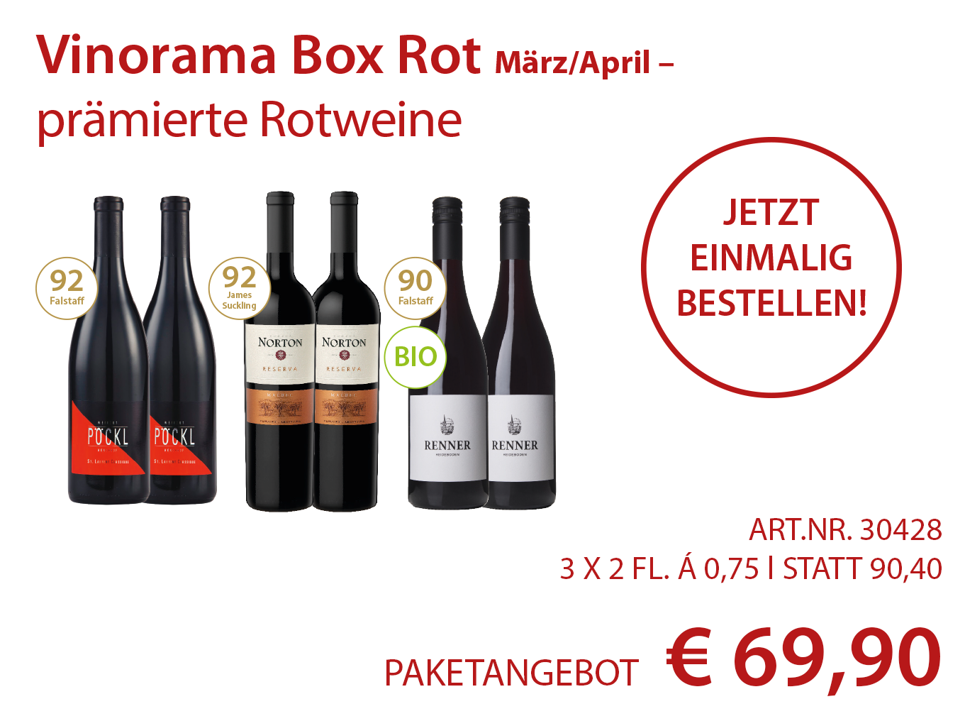 Vinorama Box Rot Paket