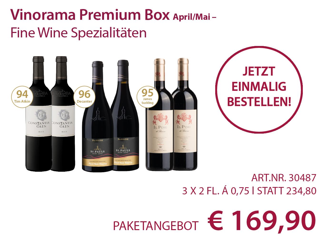 Vinorama Premium Box Paket