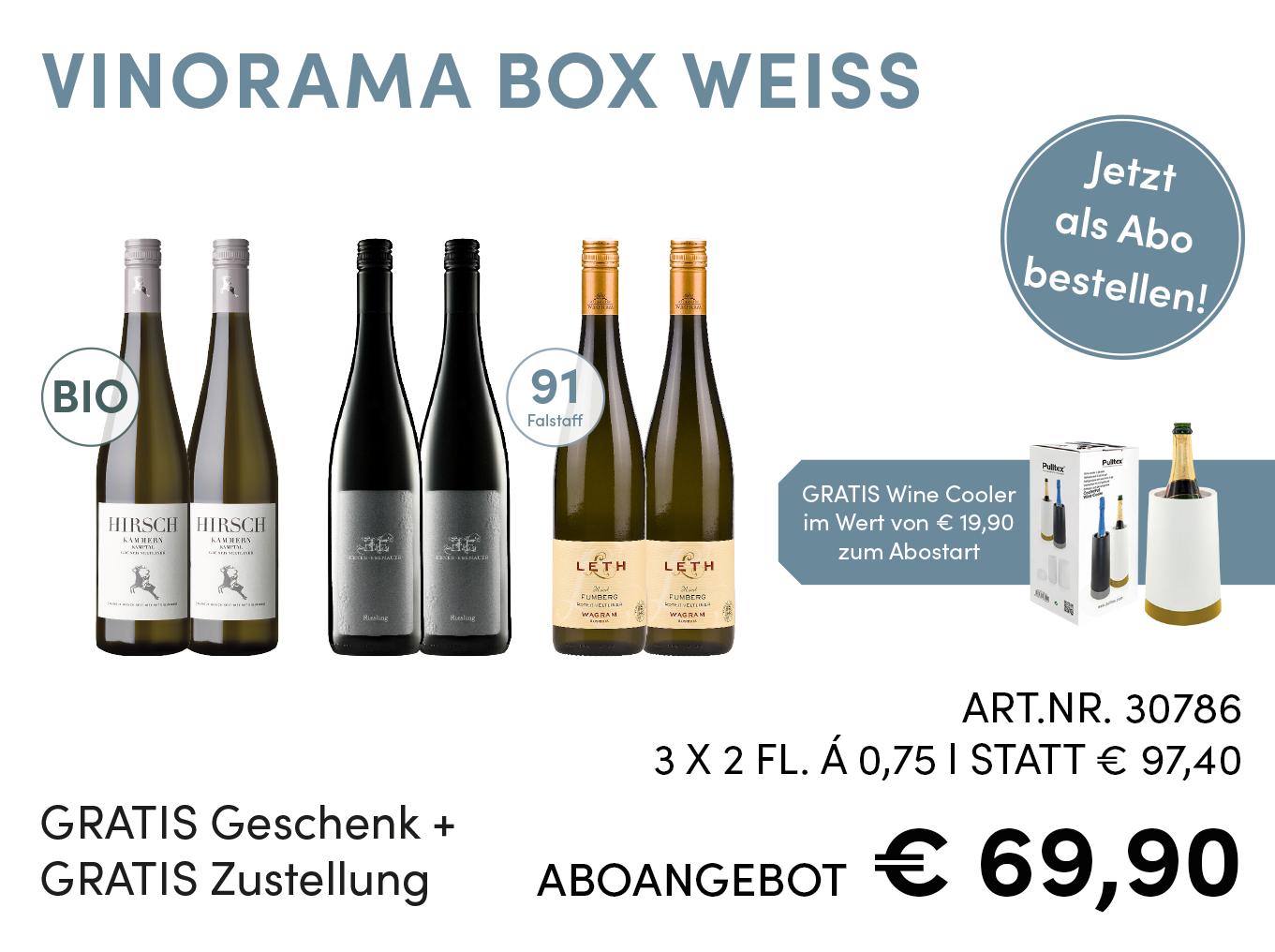 Vinorama Box Weiss Abo