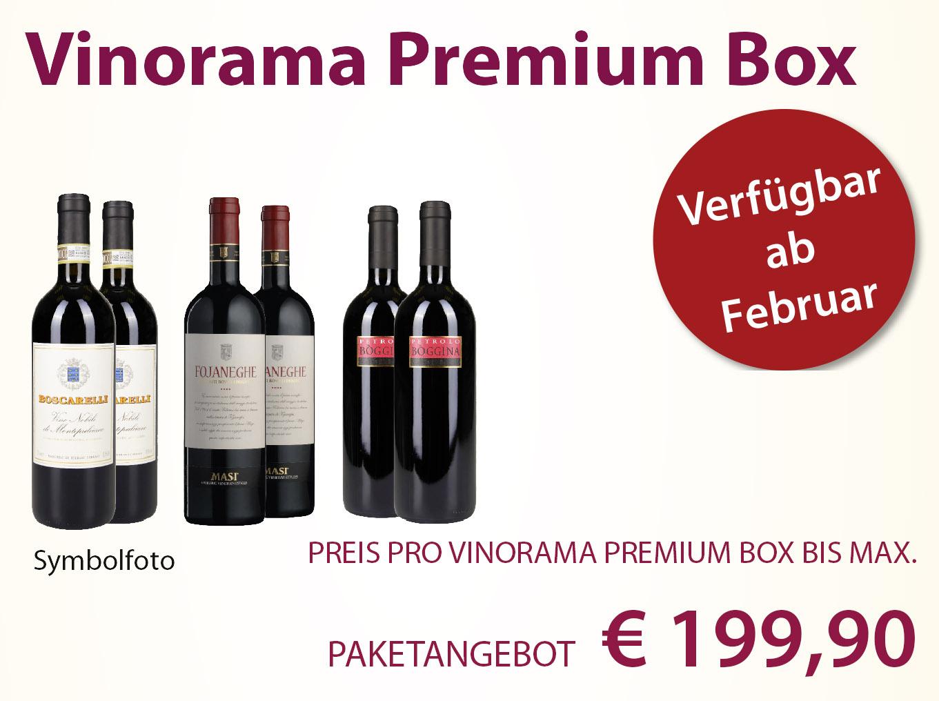 Vinorama Premium Box einmalig