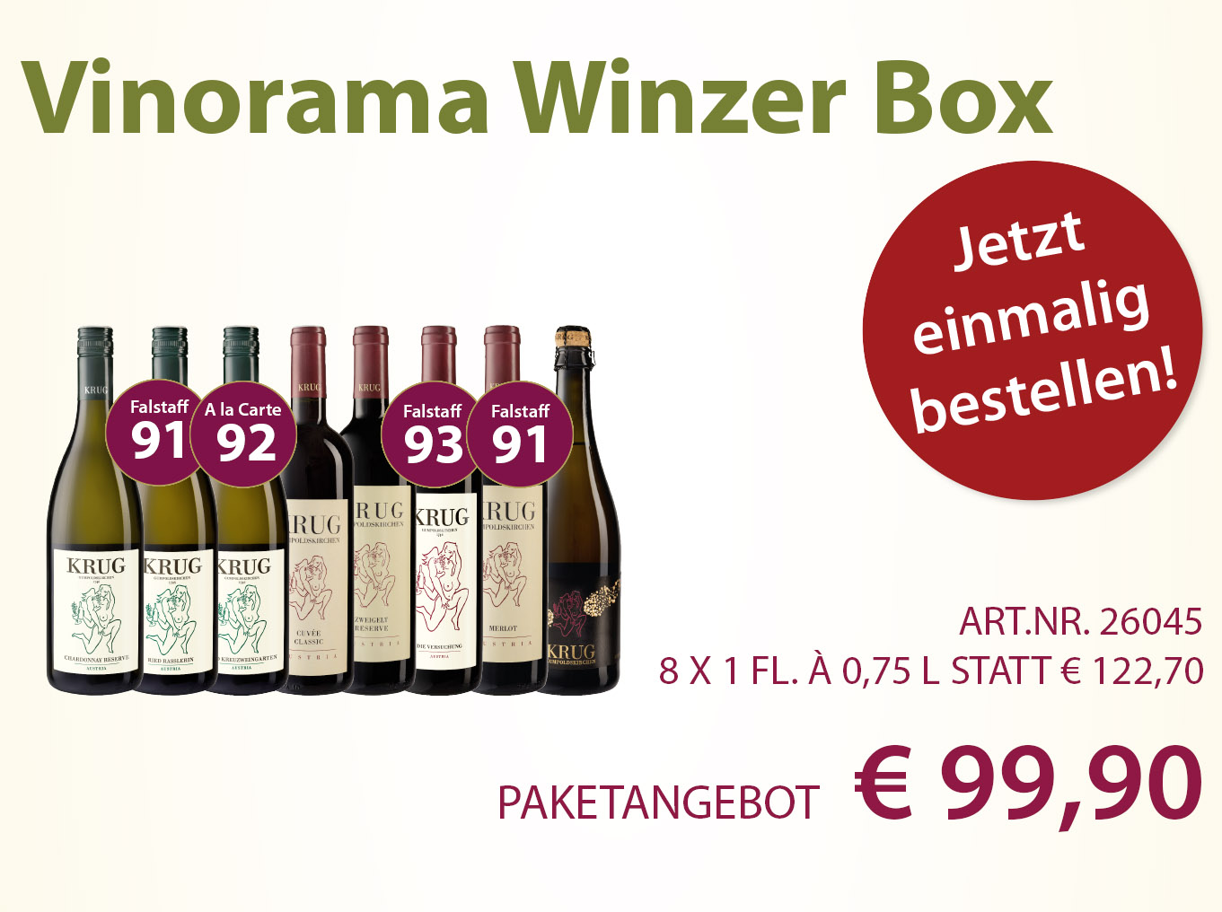 Vinorama Winzer Box einmalig