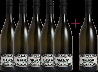"""Heideboden Cuvée Weiss 2019"" 5+1 GRATIS Paket"