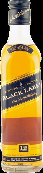 Johnnie Walker Black Label 12 Years Halbflasche
