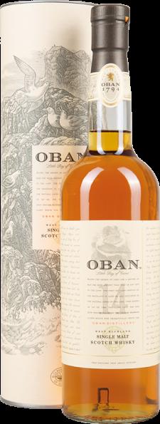 Oban Single Malt Scotch Whisky 14 Years