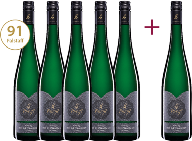 """""""Riesling Ried Pletzengraben 2018"""" 5+1 GRATIS Paket"""