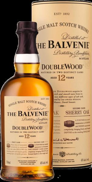 The Balvenie Double Wood Single Malt Scotch Whisky 12 Years