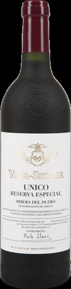 """Vega Sicilia Unico """"Reserva Especial"""" Vino fino de Mesa"""