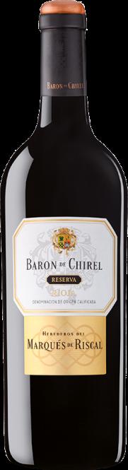 Baron de Chirel Reserva, Rioja DOCa 2010