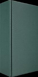 2er Geschenkkarton Modern Grün für 2 Flaschen 0,75 l