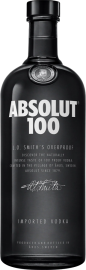 Absolut Vodka 100