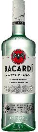 Bacardi Carta Blanca Superior White Rum Großflasche