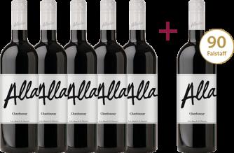 """""""Chardonnay 2019"""" 5+1 GRATIS Paket"""