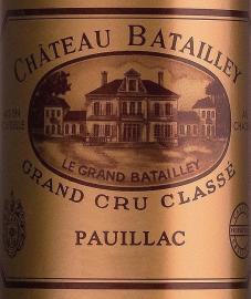 Château Batailley - 5ème Grand Cru Classé 2016