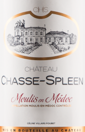 Château Chasse-Spleen - Cru Bourgeois Exceptionnel 2016