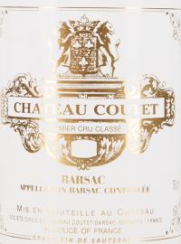 Château Coutet - 1er Grand Cru Classé 2017