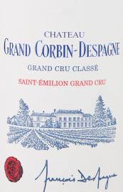 CHATEAU GRAND CORBIN DESPAGNE Grand Cru Classé 2016