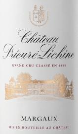 CHÂTEAU PRIEURÉ-LICHINE 4eme Grand Cru Classé 2020