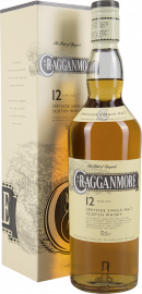 Cragganmore Single Speyside Malt Scotch Whisky 12 Years