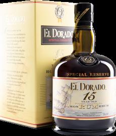 El Dorado Special Reserve Rum 15 Years