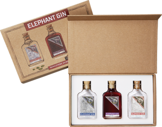 Elephant Gin 3er Miniaturset