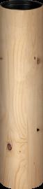Geschenkkarton Holzoptik für 1 Flasche 0,75 l