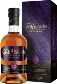 GlenAllachie Speyside Single Malt Scotch Whisky 12 Years