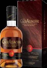 GlenAllachie Speyside Single Malt Scotch Whisky 18 Years