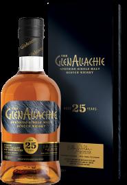 GlenAllachie Speyside Single Malt Scotch Whisky 25 Years