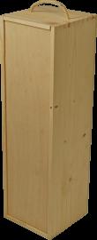 Holzkiste für 1 Flasche 1,5 l