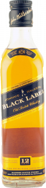 Johnnie Walker Black Label 12 Years Halbflasche