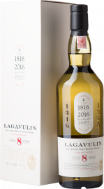 Lagavulin Islay Single Malt Scotch Whisky 8 Years