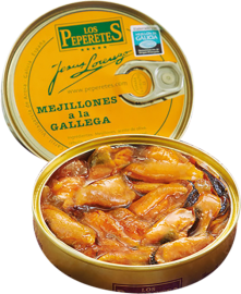 Miesmuscheln in Galizischer Sauce