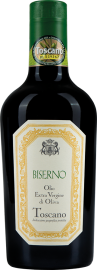"Olio Extra Vergine di Oliva ""Biserno"" Halbliterflasche"