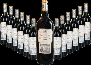 """""""Rioja Reserva DOCa 2015"""" 12+1 GRATIS Magnum Paket"""