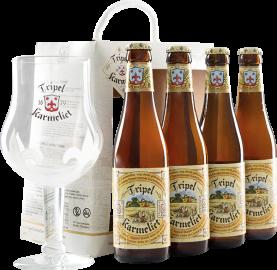 Tripel Karmeliet Geschenkset mit Bierglas