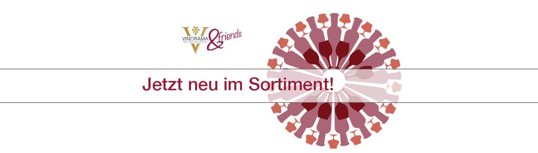 Weine - Vinorama & friends: Jetzt NEU im Sortiment! 09/2016 - Slider