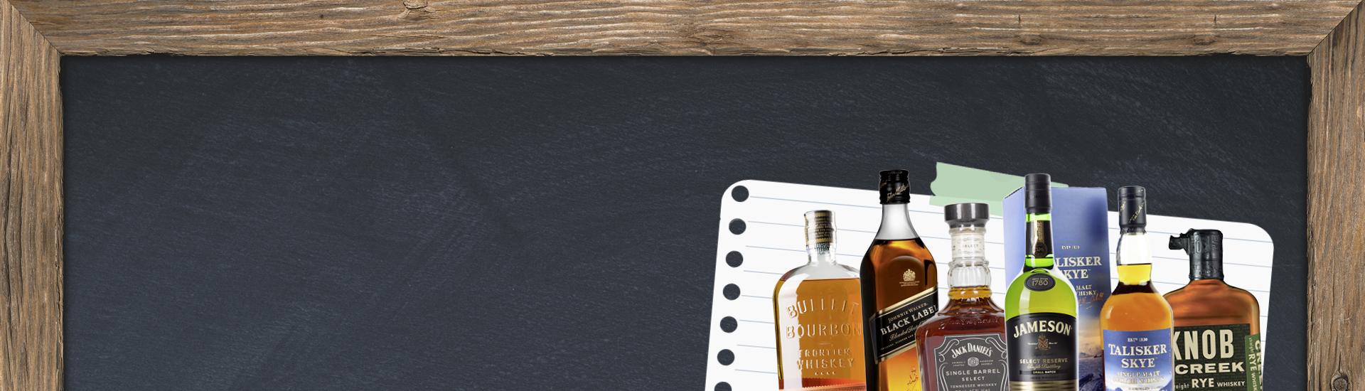 Spirituosen - Die kleine Whiskey Schule - Bourbon, Scotch & Co. 09/2017 - Slider