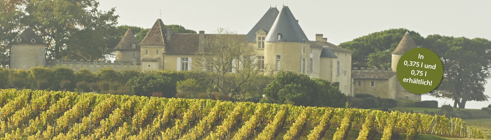 Weine - Rarität des Monats: Château d'Yquem 2013 02/2018 - Slider