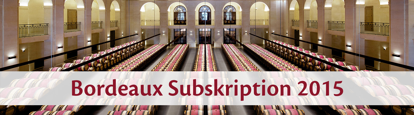 Weine - Bordeaux Subskription 2015 08/2016 - Slider